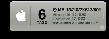 MacBook Bestellung
