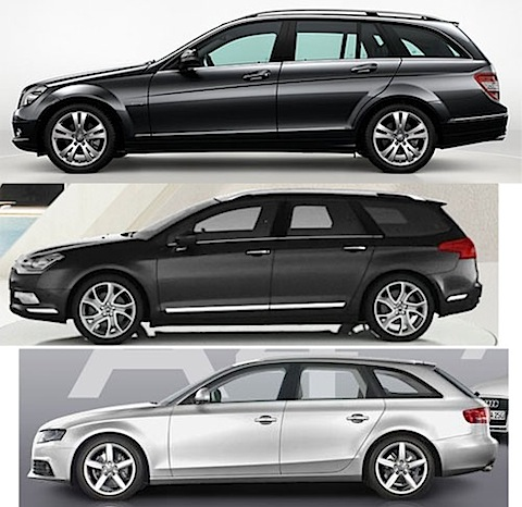 der neue audi a4 avant vs der neue citroen c5 tourer vs das neue t modell der c klasse. Black Bedroom Furniture Sets. Home Design Ideas